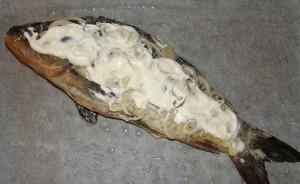 Запеченный карп