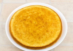 Пирог с маскарпоне и фруктами