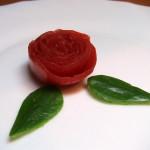 Трояндочки з помідорів
