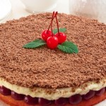 Вишневий пиріг «Насолода»