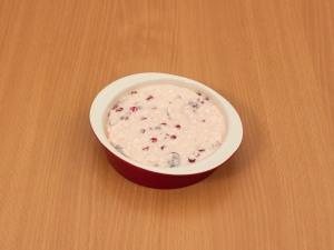 Творожная запеканка с ягодами (без муки)