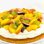 Пиріг з маскарпоне і фруктами