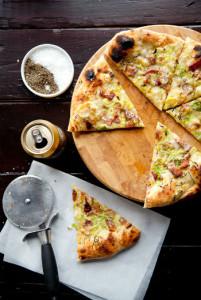 Швидке бездрожжевое тісто для піци