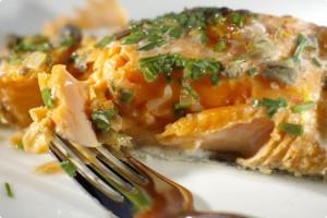 Запечений лосось