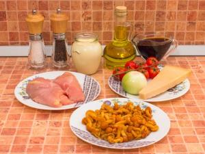 Салат в кошиках з «Пармезану»