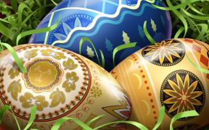 Фарбування яєць на Великдень