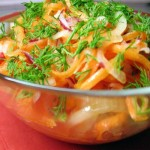 Імбирний салат для схуднення