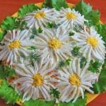 Салат «Ромашковое поле»