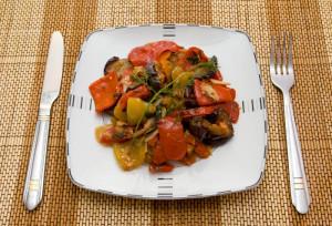 Овочеве рагу в духовці
