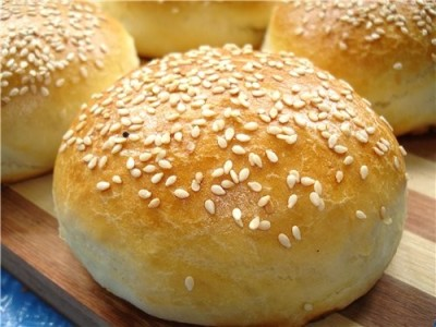 Домашні булочки для гамбургерів