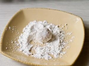 Лимонне печиво в цукровій пудрі