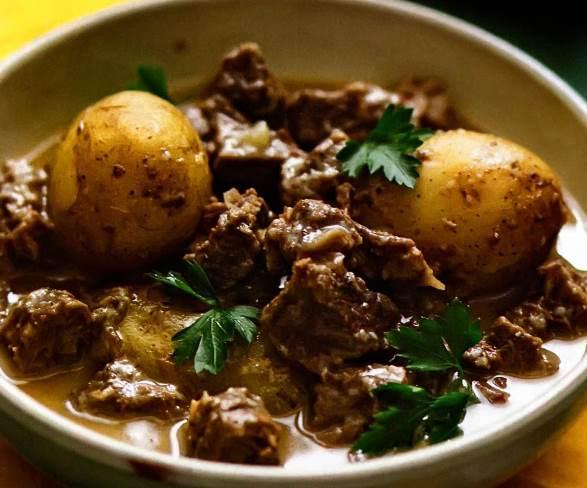 Рагу из баранины с картофелем