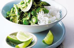 Зелене тайське каррі