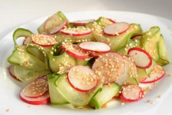 Японський салат з редису