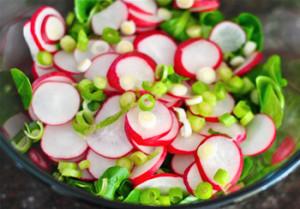 Салат з редису «Весна»