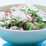 Салат из редиса с рисом