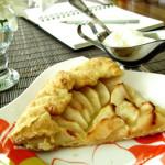 Яблучно-корична галета