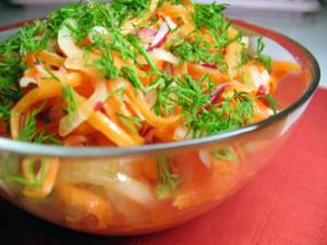 Весенний салат Свежесть