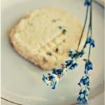 Шотландское печенье с лавандой