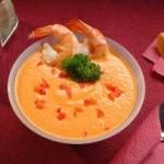 Суп-пюре з креветок