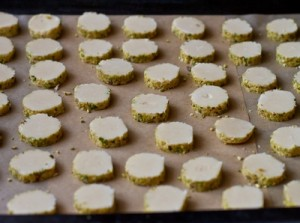 Пісочне печиво з фісташками