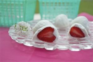 Полуниця в йогурті