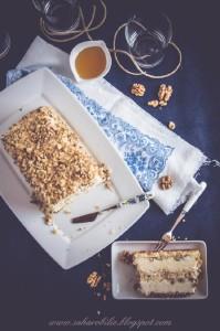 Семифреддо на мёде с грецкими орехами