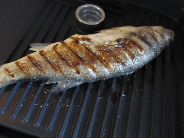Как приготовить сибас на сковороде с фото