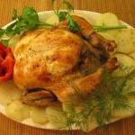 Рецепты курицы с картошкой