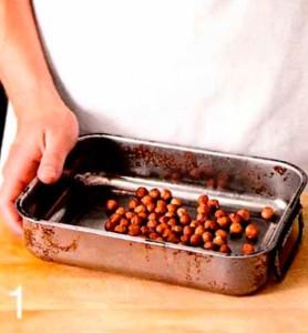 Шоколадно горіхове суфле