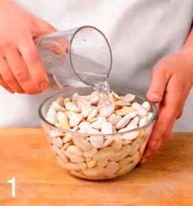 Рагу з білої квасолі