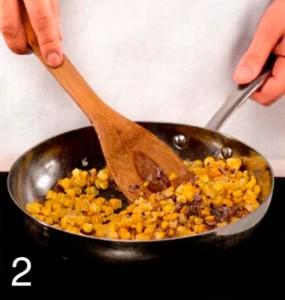Салат з креветок з кукурудзою