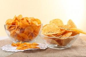 3 домашніх рецепта корисних чіпсів