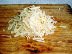 Картопляні лапті фаршировані грибним жульєном