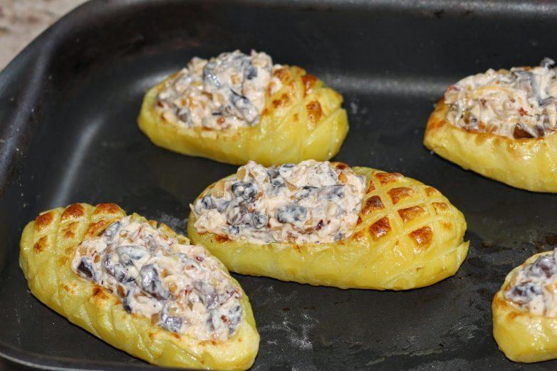 Лапти с картошкой рецепт с фото