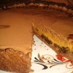 Карамельный тарт с черносливом