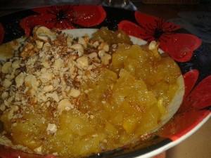 Печенье с яблочной начинкой