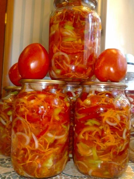 Салат с рисом на зиму: рецепт овощной заготовки   Чудо-Повар