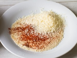 Смажений сулугуні в хрусткої сирній паніровці
