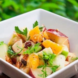 Салат з апельсинів і яблук