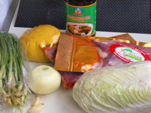 Утиное филе с домашней лапшой