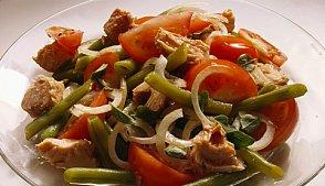 Теплий салат з печених овочів