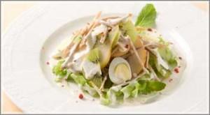 Весняний салат з ківі