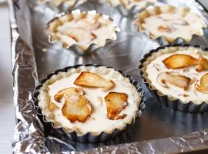 Тарталетки з білими грибами