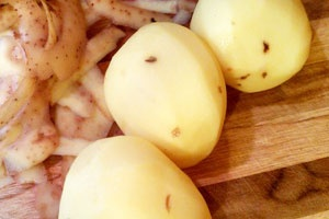 Курка з кабачками і картоплею