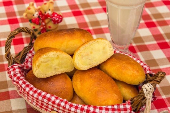 пирожки с картошкой пошаговый рецепт с фото