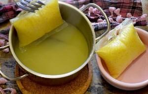 Кебаб в духовке с овощами и желтым рисом