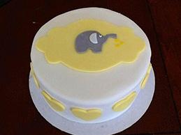 Торт детский из мастики