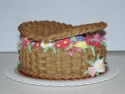 Торт квітка з мастики