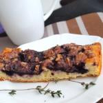 Пирог с черникой и тимьяном